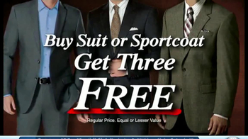 JoS. A. Bank TV Spot, 'Buy One Get Two' - Thumbnail 6
