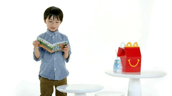 McDonald's Happy Meal Books TV Spot