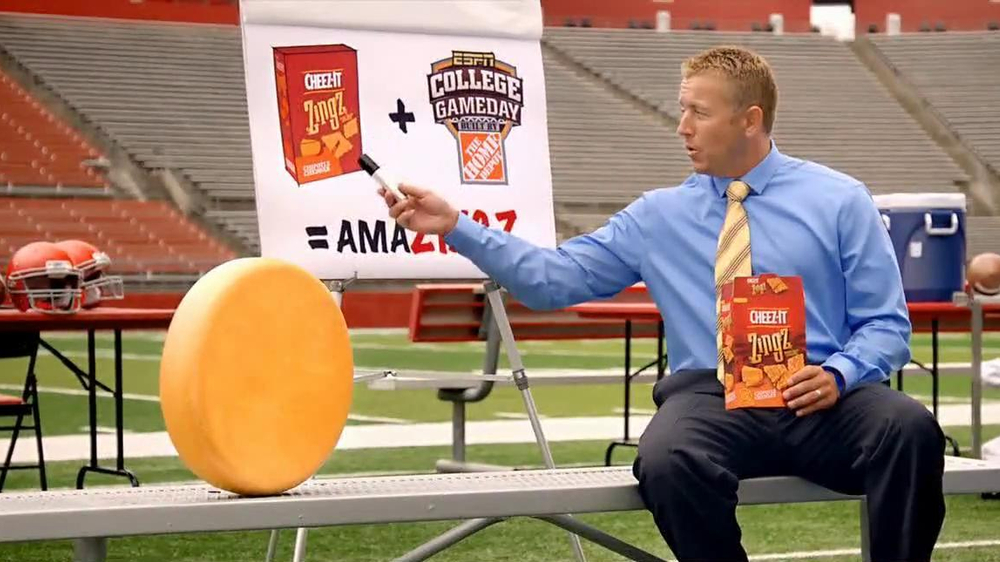 Cheez-It Zingz TV Commercial, 'College Gameday: Magical' Feat. Kirk Herbstreit