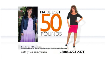 Nutrisystem TV Spot, 'You Can Do It' Featuring Marie Osmond - Thumbnail 4