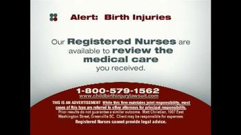 Sokolove Law TV Spot, 'Birth Injuries' - Thumbnail 6