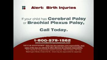 Sokolove Law TV Spot, 'Birth Injuries' - Thumbnail 8