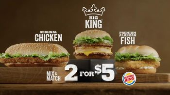 Burger King Big King TV Spot, '2 for $5: What's Inside' - Thumbnail 10