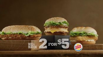 Burger King Big King TV Spot, '2 for $5: What's Inside'