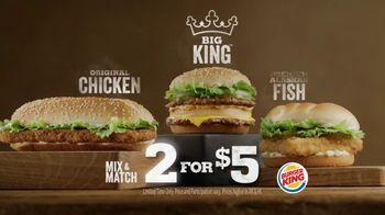 Burger King Big King TV Spot, '2 for $5: What's Inside' - Thumbnail 9