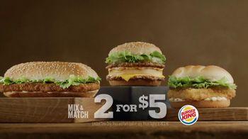 Burger King Big King TV Spot, '2 for $5: What's Inside'
