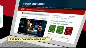 CNBC App TV Spot, 'Comic Book' - Thumbnail 2