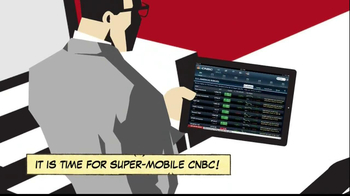 CNBC App TV Spot, 'Comic Book'