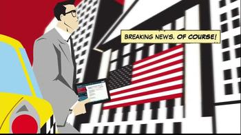 CNBC App TV Spot, 'Comic Book' - Thumbnail 5