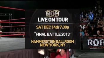 ROH Wrestling Final Battle 2013 TV Spot - Thumbnail 3