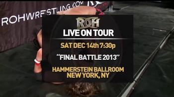 ROH Wrestling Final Battle 2013 TV Spot - Thumbnail 4
