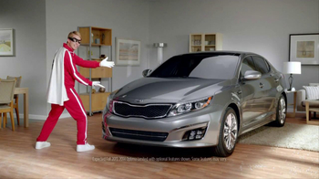 Kia Optima TV Spot, 'Zip Line' Feat. Blake Griffin, Jack McBrayer - Thumbnail 7