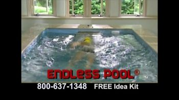 The Endless Pool TV Spot, 'Swim All Year'