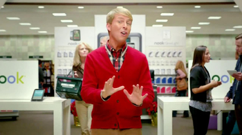 Barnes & Noble TV Spot, 'Holiday Gift Ideas' Featuring Jack McBrayer