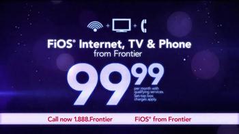 Frontier FiOS Triple Play TV Spot, 'Power of Fiber Optics' - Thumbnail 3