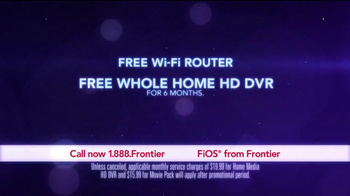 Frontier FiOS Triple Play TV Spot, 'Power of Fiber Optics' - Thumbnail 4
