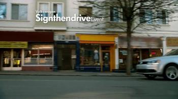 Volkswagen Sign Then Drive Event TV Spot, 'Just a Signature' - Thumbnail 1