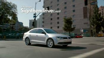 Volkswagen Sign Then Drive Event TV Spot, 'Just a Signature' - Thumbnail 2