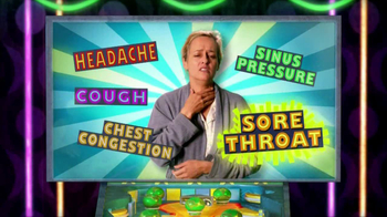 Mucinex Fast-Max TV Spot, 'Pinball Machine' - Thumbnail 4