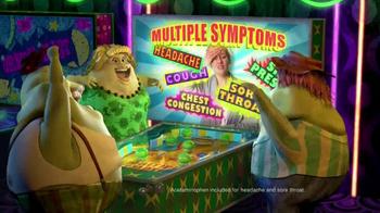 Mucinex Fast-Max TV Spot, 'Pinball Machine' - Thumbnail 6