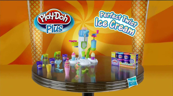 Play-Doh Plus Perfect Twist Ice Cream TV Spot - Thumbnail 9