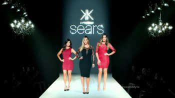 Sears TV Spot Featuring Kim, Khloe and Kourtney Kardashian