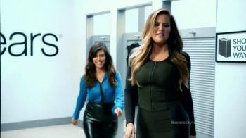 Sears TV Spot Featuring Kim, Khloe and Kourtney Kardashian - Thumbnail 5