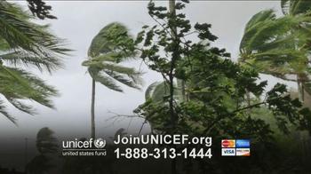 UNICEF TV Spot, 'Typhoon in Philippines' - Thumbnail 1