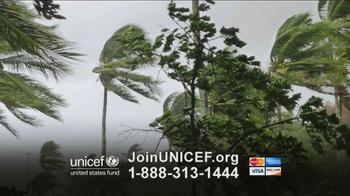 UNICEF TV Spot, 'Typhoon in Philippines' - Thumbnail 2