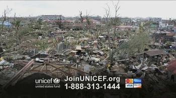 UNICEF TV Spot, 'Typhoon in Philippines' - Thumbnail 3