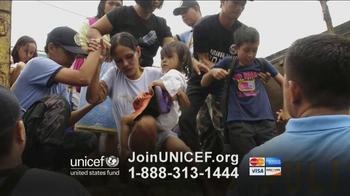 UNICEF TV Spot, 'Typhoon in Philippines' - Thumbnail 4