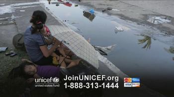 UNICEF TV Spot, 'Typhoon in Philippines' - Thumbnail 5
