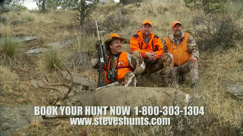 Steve's Outdoor Adventure TV Spot, 'Book Your Hunt'