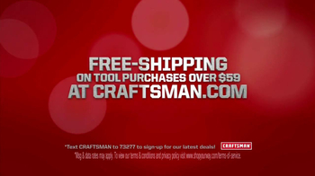 Craftsman 220 Piece Mechanics Tool Set TV Spot - Thumbnail 7