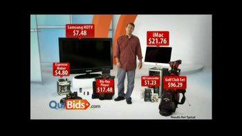 Quibids.com TV Spot, 'Over 30 Products'