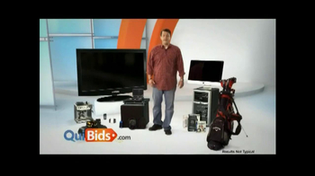 Quibids.com TV Spot, 'Over 30 Products' - Thumbnail 1