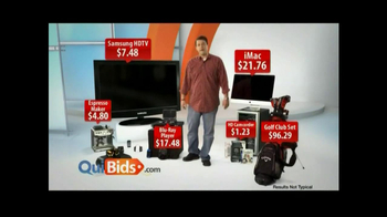 Quibids.com TV Spot, 'Over 30 Products' - Thumbnail 3