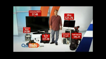 Quibids.com TV Spot, 'Over 30 Products' - Thumbnail 6