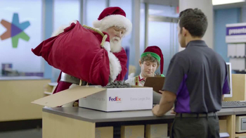 FedEx One Rate TV Spot, 'Santa' - Thumbnail 1