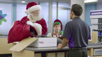 FedEx One Rate TV Spot, 'Santa' - 1382 commercial airings