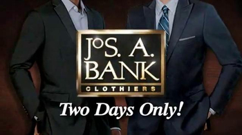 JoS. A. Bank TV Spot, 'November 2013 2 Day Suit Event'