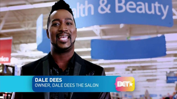 BET and Walmart TV Spot, \'Cosmetics\' Featuring Dale Dees