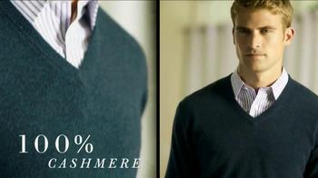 JoS. A. Bank Traveler Cashmere Sweaters TV Spot - Thumbnail 3