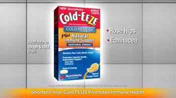 Cold EEZE Plus Natural Immune Support TV Spot - Thumbnail 4