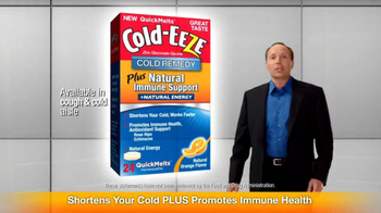 Cold EEZE Plus Natural Immune Support TV Spot - Thumbnail 5