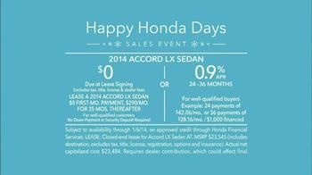 Honda Happy Honda Days: Accord TV Spot, 'Cue the Bolton' Ft. Michael Bolton - Thumbnail 10