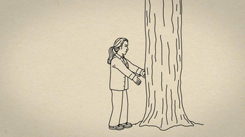 Duluth Trading Women's Flannel TV Spot, 'Hugging a Tree' - Thumbnail 2
