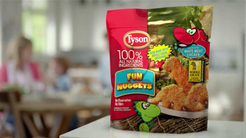 Tyson Fun Nuggets TV Spot, 'Picky Eaters' - Thumbnail 9