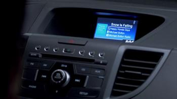 Honda Happy Honda Days: CR-V TV Spot, 'The Spirit' Featuring Michael Bolton - Thumbnail 3