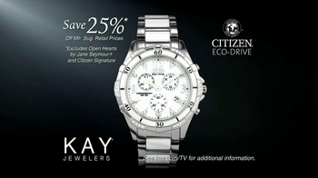Kay Jewelers TV Spot, 'Kids Today: Save 25 Percent on Citizen Watches' - Thumbnail 8